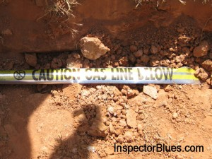 Buried Natural Gas Line Code